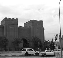 BW Iraq Baghdad museum 1970s by blackwhitephoto