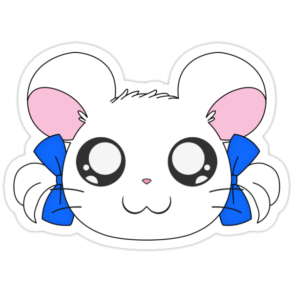 Hamtaro - Bijou's Head by LynchMob1009