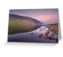 The Serenity Of Twilight Greeting Card