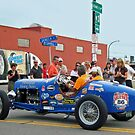 1934 Ford Speedster in Buffalo during the 2012 Great Race by Ray Vaughan