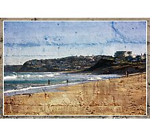 Playing In The Shorebreakers Photographic Print