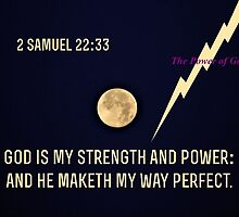 God is My Strength and Power by aprilann