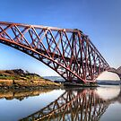 North Queensferry Reflections by Tom Gomez