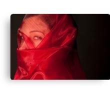 Veil of fears Canvas Print