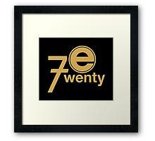 Entertainment 720 - Oversized logo Framed Print