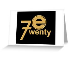 Entertainment 720 - Oversized logo Greeting Card