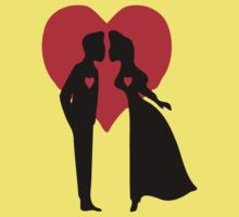 ۞»♥Romantic Love:Lovely Couples Kissing Clothing & Stickers♥«۞ by Fantabulous