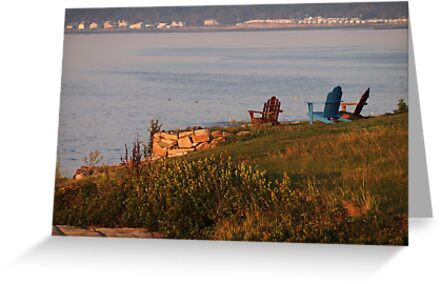 Find Your Seat on Cape Neddick by Linda Makiej
