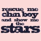 Rescue Me Chin Boy And Show Me The Stars (Dark Sky Blue) by ixrid