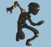 steampunk ninja Kids Clothes