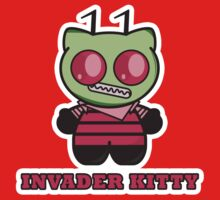 INVADER KITTY parody by M. E. GOBER