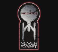 Never Forget: NCC-1701 (Refit) T-Shirt
