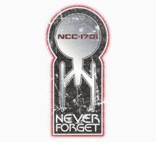 Never Forget: NCC-1701 (Refit) Kids Clothes