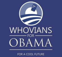Whovians for Obama by tripinmidair