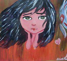 emo big eyes doll by addicted2joy