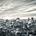 Montreal Skyline by Michael Vesia
