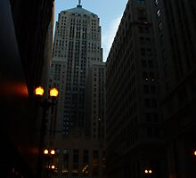 LaSalle St. Chicago, IL by Adam Kuehl