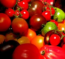 Heirloom Tomatoes by Barnbk02