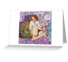 Pin Up Girls: Smoke This Greeting Card
