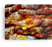 Almond Croissants Metal Print