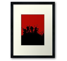 Turtles Framed Print