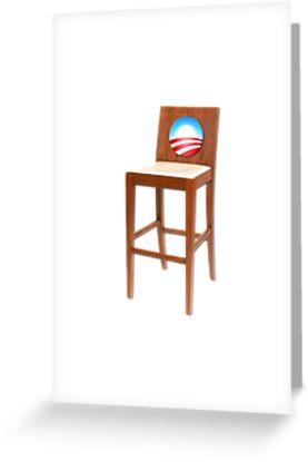 Obama Empty Chair Clint Eastwood by gleekgirl