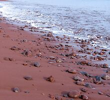 Red sand. by Anne Scantlebury