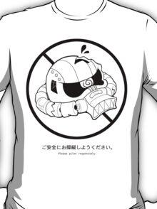 PSA (Zaku ver.) T-Shirt