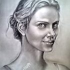 charlize theron by Bahgatov