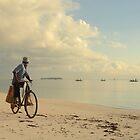 Fisherman, Zanzibar island by Konstantin Zhuravlev