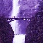 Multnomah Falls by AlenaKeely