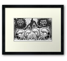 Cyclope Invasion Framed Print