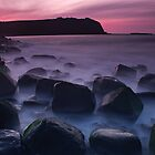 Pink with a hint of Green by Kyle  Rodgers