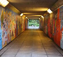 Tunnel art.  by Fred Taylor