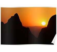 Sunset at the Window Poster
