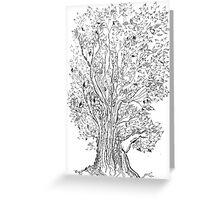 Evolutionary Tree  Greeting Card
