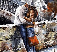 Rainy day 18 - Love in the rain by Imre Toth (Emerico)