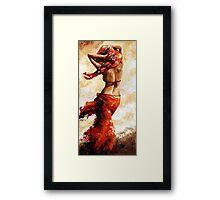 Hot breeze Framed Print