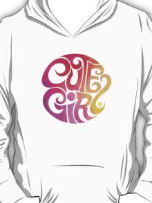 Cute Girl T-Shirt