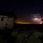Storm Clouds at Guadalupe Ghost Town by Mitchell Tillison