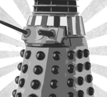 Doctor Who - DALEK - Exterminating Dirty Sticker