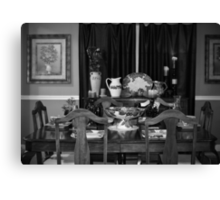 Grandmother's Dining Room Canvas Print