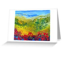 The colour of summer Greeting Card