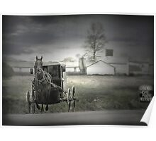 The Amish of Lancaster County Poster
