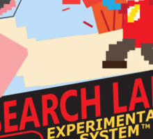 Research Lab! Sticker