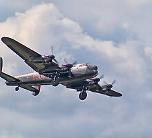 """Lest We Forget"" - BBMF Lancaster - Dunsfold 2012 by Colin J Williams Photography"