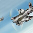 Normandy Typhoons by Spencer Trickett