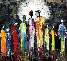 Gathering by F. Magdalene Austin