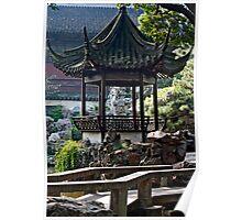 Chinese Gazebo Poster