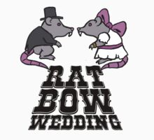 rat, wedding, bow by jammywho21